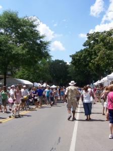 The Park Ave. Festival takes place every August.