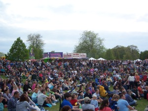 Music at the Lilac Festival