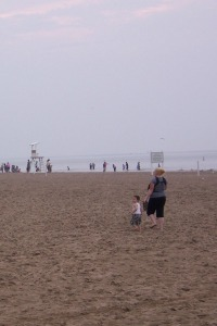 Ontario Beach Park in the summertime