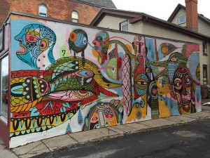 South Wedge mural
