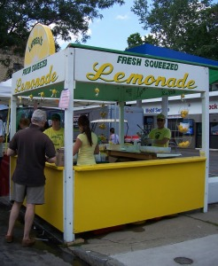 park ave fest lemonade
